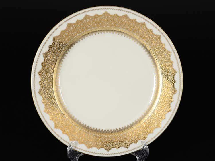 AGADIR BROWN Gold Набор тарелок 21 см Falken