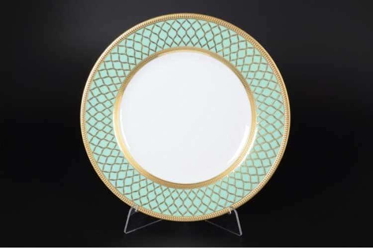 VALENCIA SELADON GOLD Набор тарелок 21 см Falkenporzellan