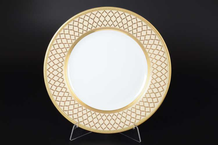 VALENCIA CREME GOLD Набор тарелок 27 см Falkenporzellan