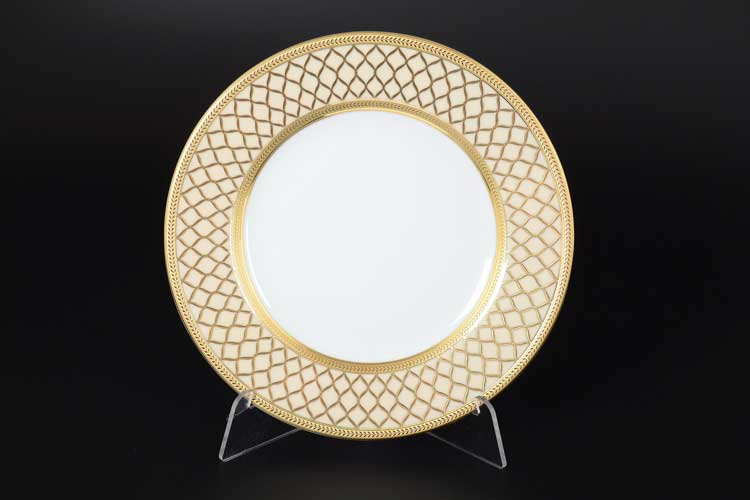 VALENCIA CREME GOLD Набор тарелок 21 см Falkenporzellan