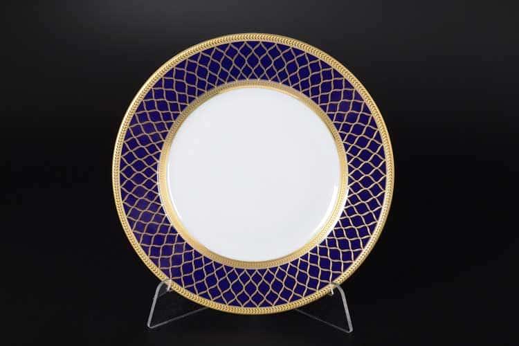 VALENCIA COBALT GOLD Набор тарелок 21 см Falkenporzellan