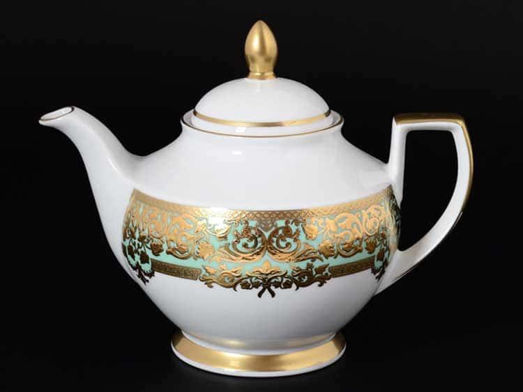 NATALIA GREEN GOLD Чайник 1,20 мл Falkenporzellan