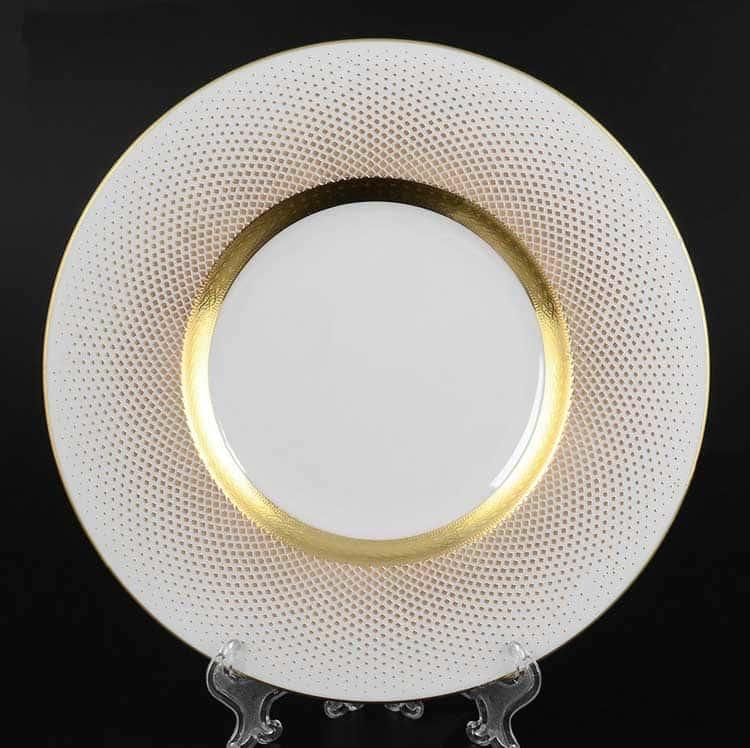 Rio white gold Набор тарелок 22 см (6 шт) Falken
