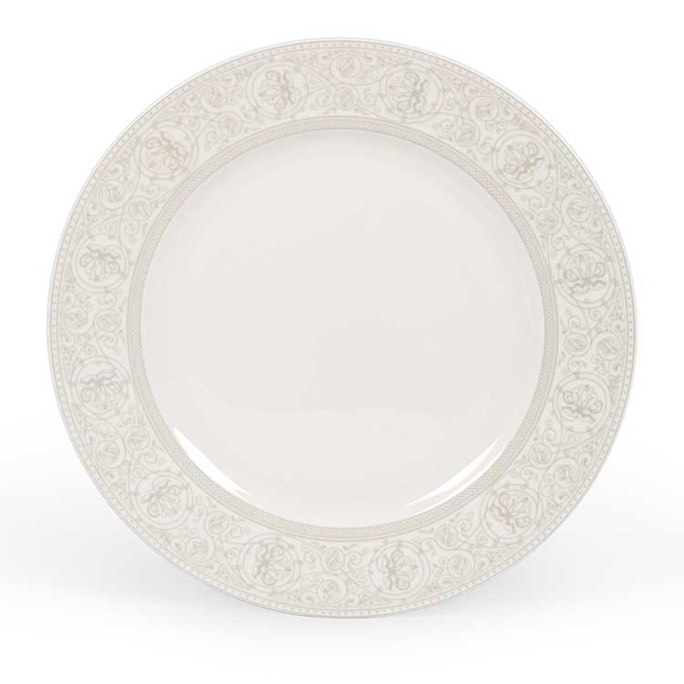 Дионис Костяной фарфор АККУ закусочная тарелка