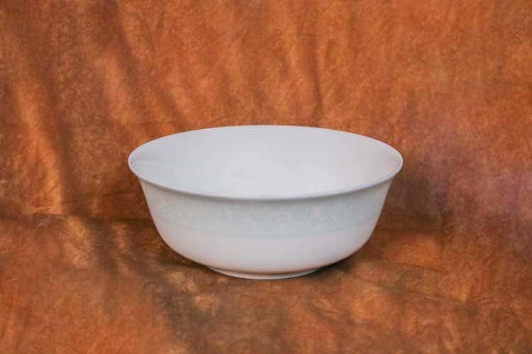 Дионис-Аквамарин Костяной фарфор АККУ тарелка суповая 500 мл 15 см