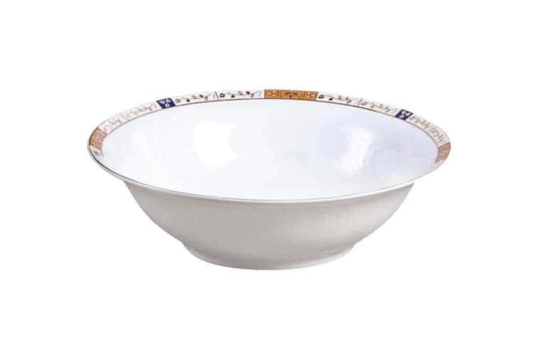 Золотая веточка Костяной фарфор АККУ тарелка суповая
