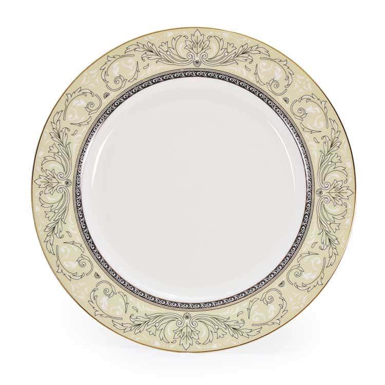 Людовик Костяной фарфор АККУ тарелка закусочная 20,5 см