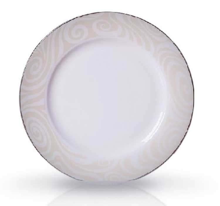 Миллениум Костяной фарфор АККУ в/с тарелка закусочная