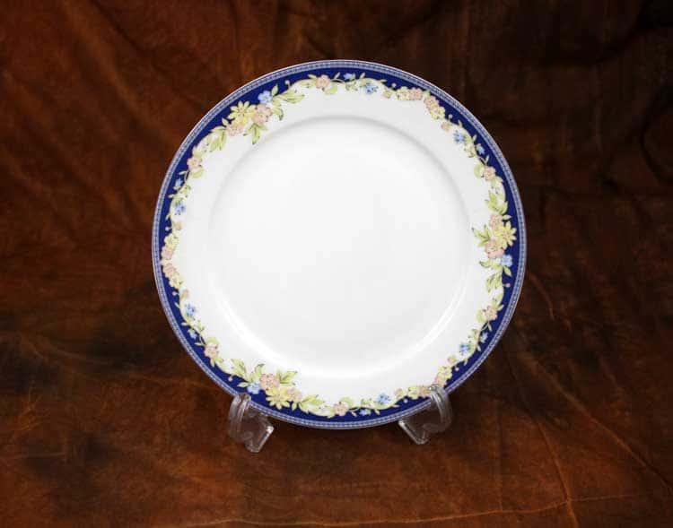 Ноктюрн Костяной фарфор АККУ Тарелка закусочная 20,5 см