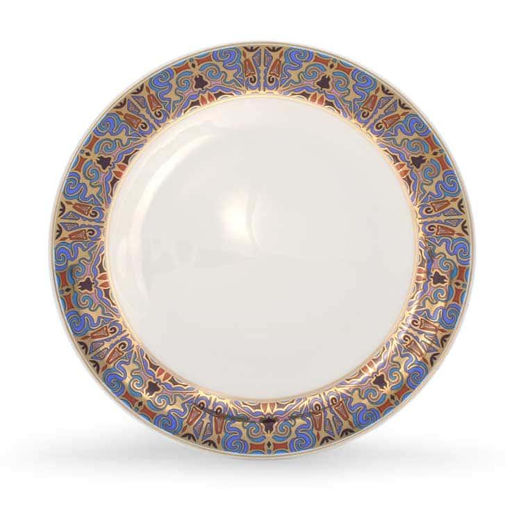 Тамерлан Костяной фарфор АККУ тарелка закусочная