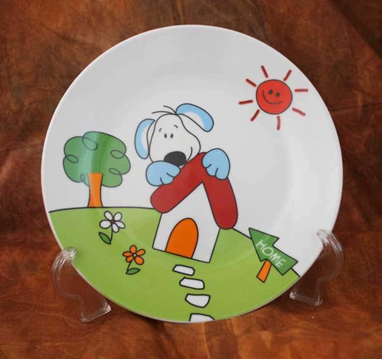 Cобачка  Детский набор посуды Акку 3 предмета