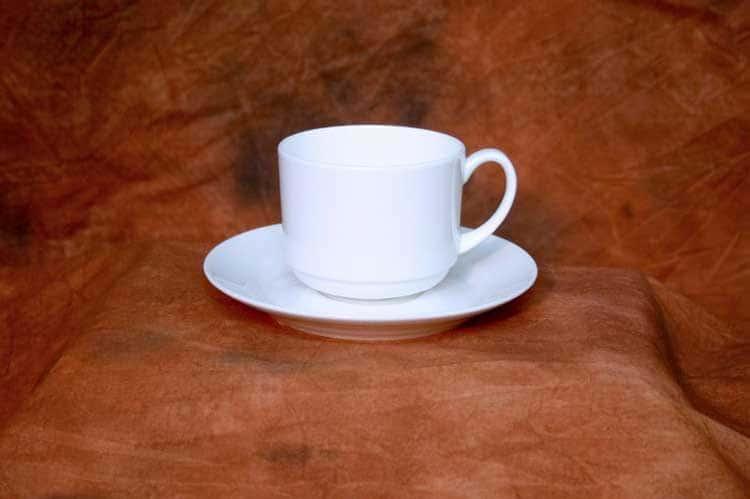 Классика Костяной фарфор АККУ в/с Чайная пара 250 мл 15 см