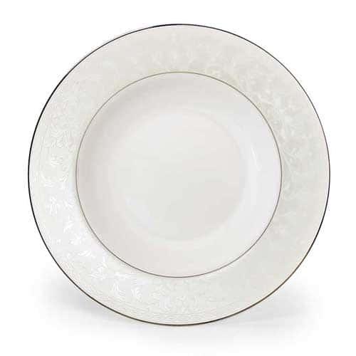 Ариадна Костяной фарфор АККУ тарелка суповая полупорционная 350 мл, 23 см