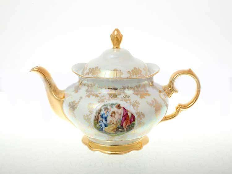 Мадонна Перламутр Чайник 1,2 л Sterne porcelan