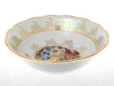 Мадонна Перламутр Салатник 23 см Sterne porcelan