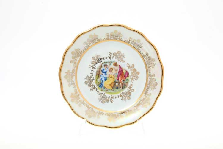 Мадонна Перламутр Набор тарелок 19 см Sterne porcelan