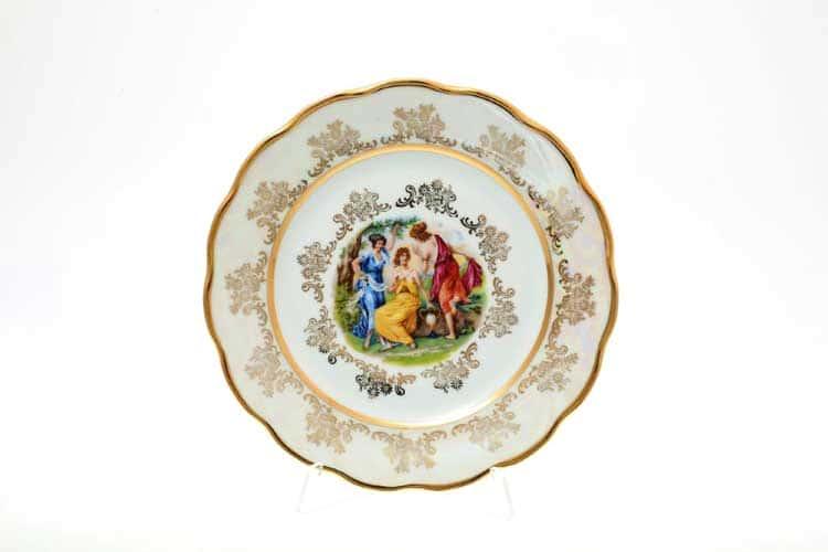 Мадонна Перламутр Набор тарелок 17 см Sterne porcelan