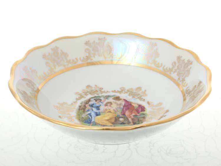 Мадонна Перламутр Набор салатников 16 см Sterne porcelan
