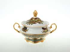 Охота Зеленая Сахарница 350 мл Sterne porcelan