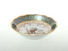Охота Зеленая Набор салатников 13 см Sterne porcelan