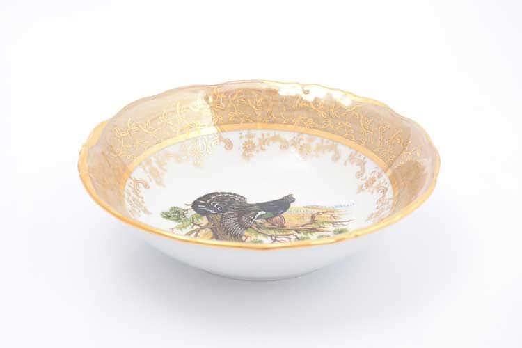 Охота Бежевая Набор салатников 16 см Sterne porcelan