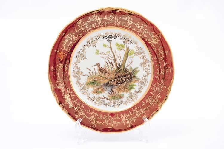 Охота Красная Набор тарелок 19 см Sterne porcelan