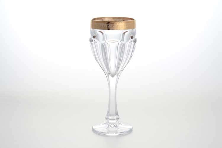 Сафари Набор бокалов для вина 290 мл BOHEMIA GOLD