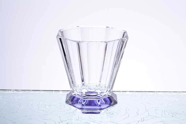 Набор стаканов 310 мл 6 шт Gold Crystal синие
