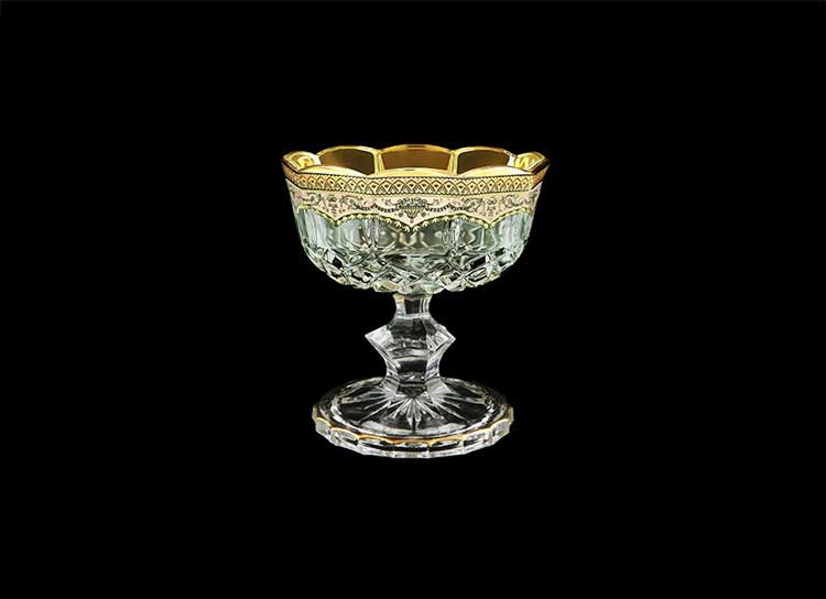 Opera Floras Empire Golden Ivory Decor Конфетница на ножке 12 см Astra Gold