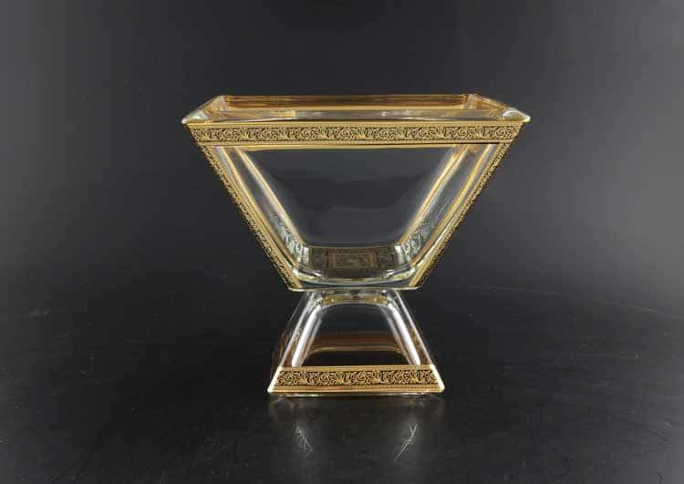 Ducale Lilit Golden Black Decor Конфетница 20*20 см Astra Gold
