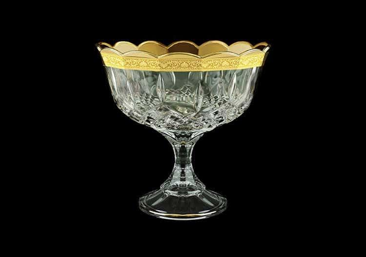 Opera Romance Golden Classic Decor Конфетница 18 см Astra Gold