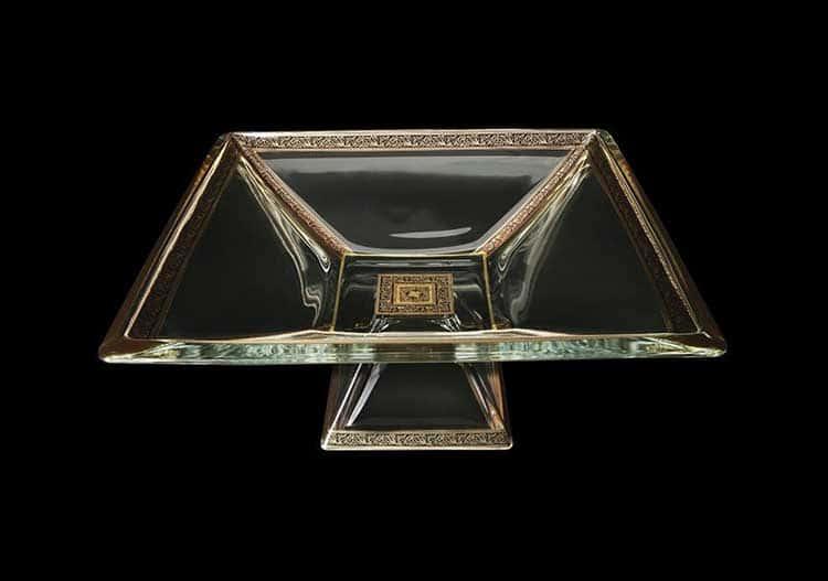 Ducale Lilit Golden Black Decor Фруктовница 35х35 см Astra Gold