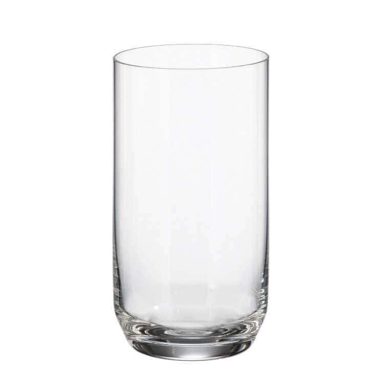 INES Набор стаканов для воды 250 мл Crystalite (6 шт)