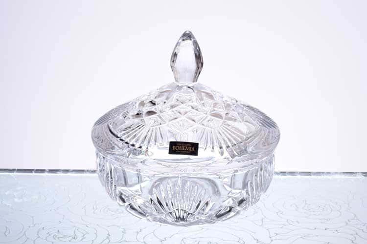 LYRA NOVA Конфетница 15 см Crystalite Bohemia