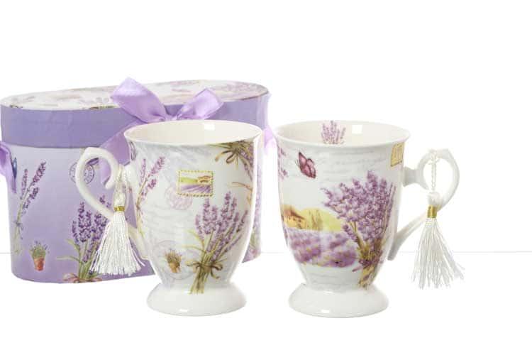 Бабочки Lavender Набор кружек 300 мл 2 шт Royal Classics