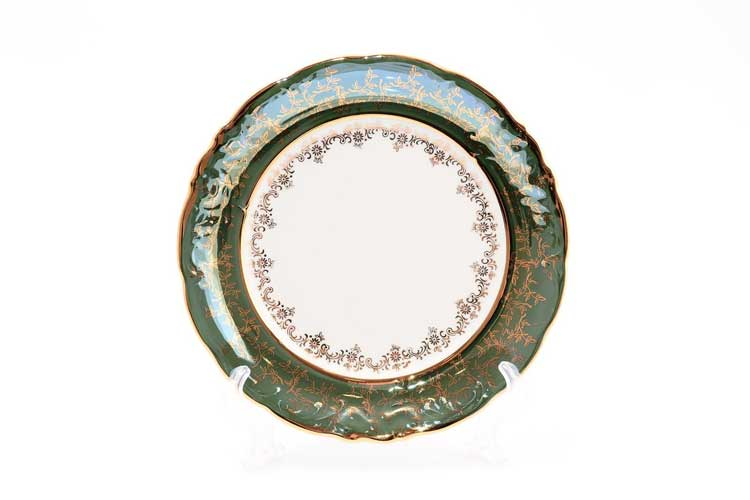 Зеленый лист Набор тарелок 25 см Sterne porcelan