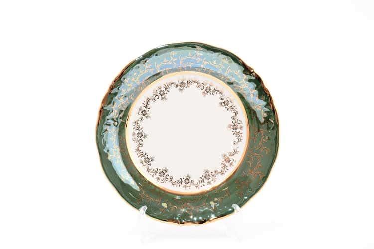 Зеленый лист Набор тарелок 19 см Sterne porcelan