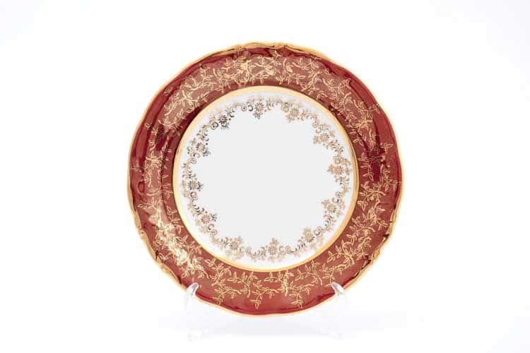 Красный лист Набор тарелок 24 см Sterne porcelan