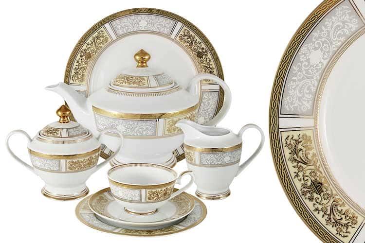 Елизавета Чайный сервиз Midori 42 предмета на 12 персон