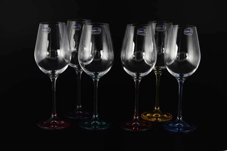 Виола Набор бокалов для вина Bohemia Crystal 250 мл