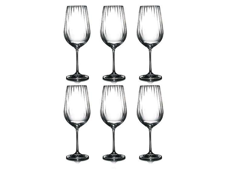 Waterfall Набор бокалов для вина Bohemia Crystal 550 мл