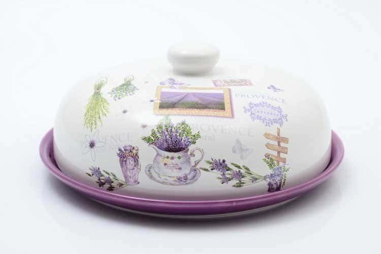 Provence Блюдо для блинов с крышкой 23 см Royal Classics