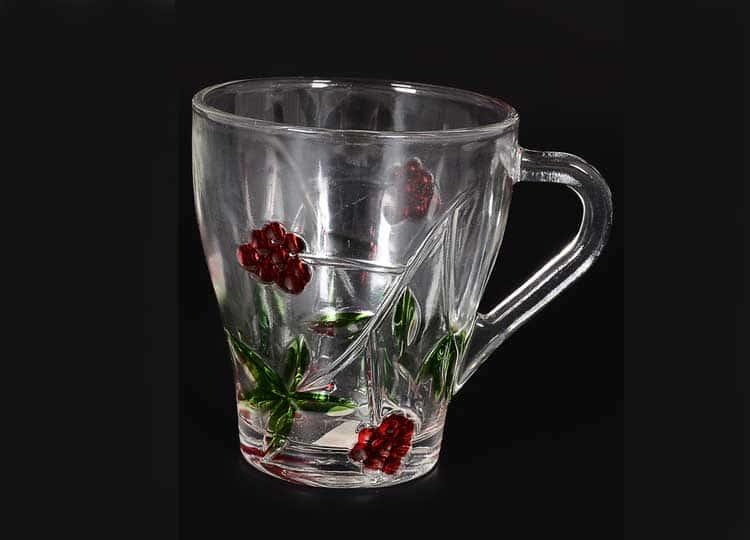 Красные цветы Набор кружек 230 мл (6 шт) Royal Classics