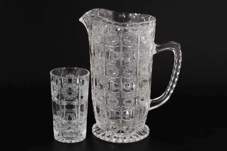 Набор для воды Royal Classics 7 предметов кувшин и высокие стаканы