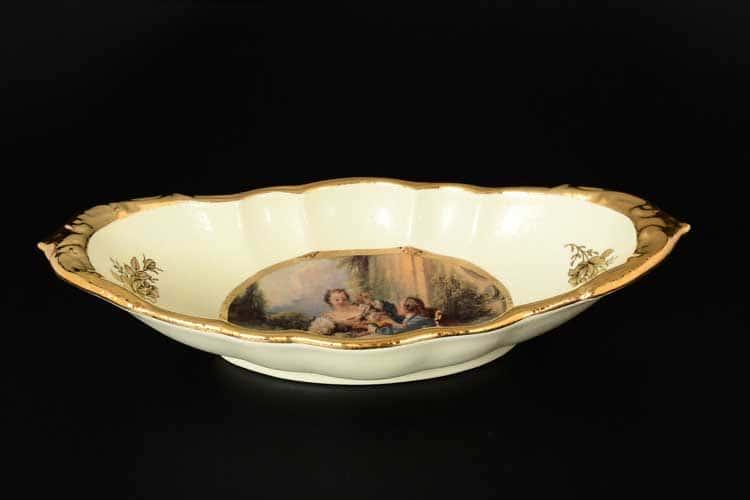 Блюдо овальное Ceramiche 34 см Bruno Costenaro