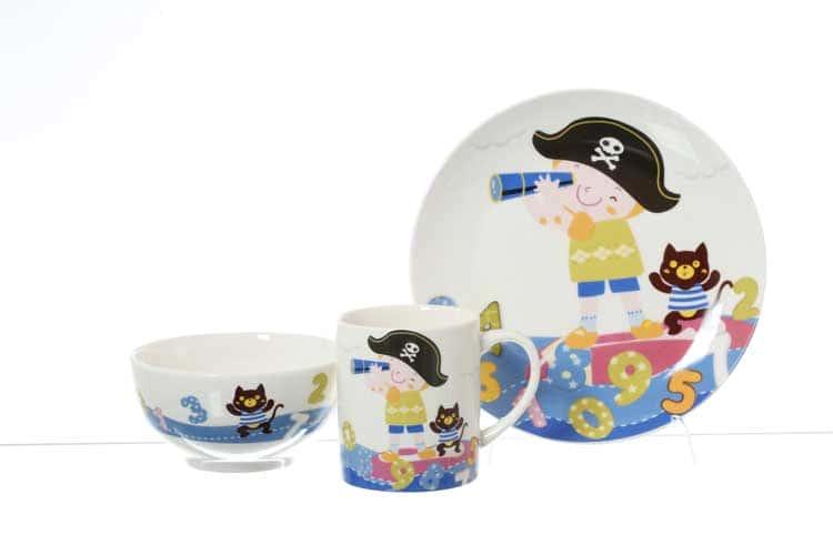 Pirate Детский набор Royal Classics 3 предмета
