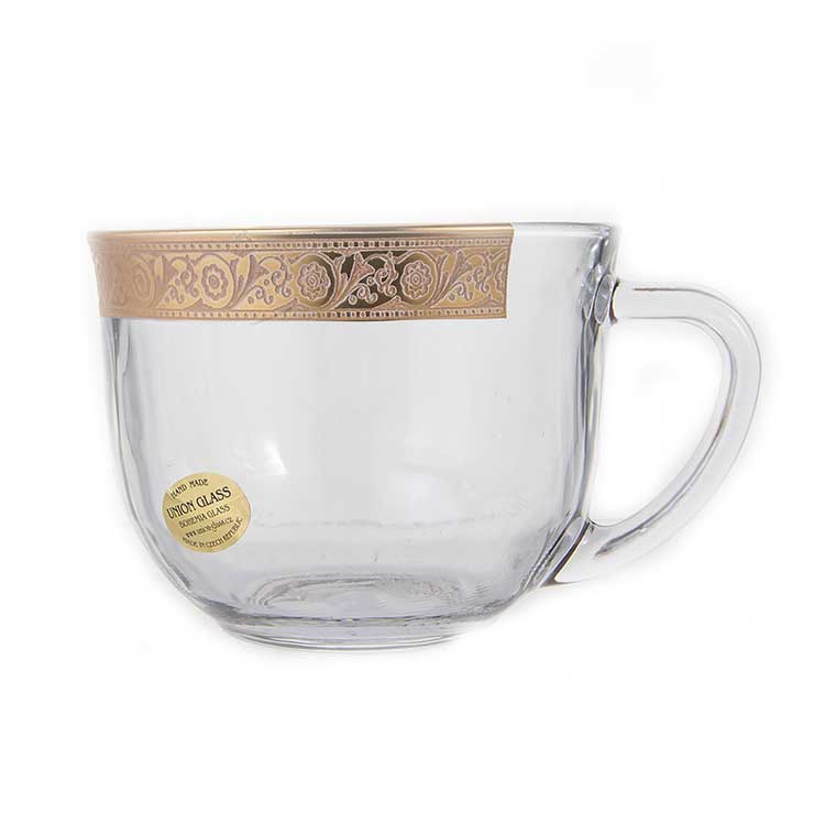 Голд Набор чайный на 6 перс Union Glass