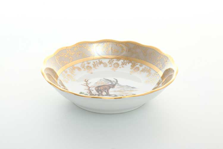 Охота Бежевая Набор салатников 13 см Sterne porcelan