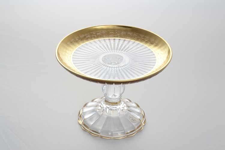 TIMON золото Ваза для конфет 16 см