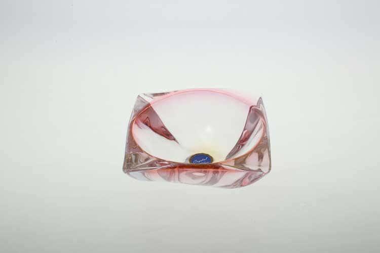 AREZZO R-G Салатник 15 см красный Bohemia Crystal